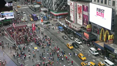 Looking-Down-Over-Times-Square