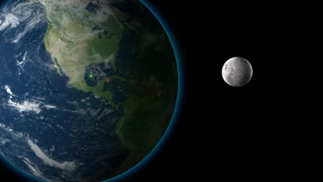 Moon-and-Earth-Animation