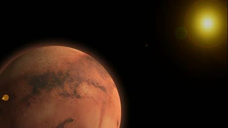 Mars-and-Sun