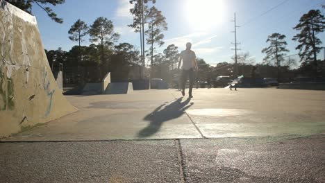 Skateboarders-at-Skatepark-