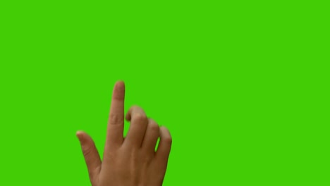 Hand-Gestures-on-Green-Screen