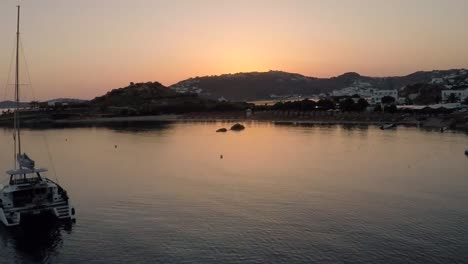 Greek-Island-Bay-at-Dusk
