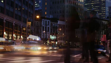 NYC-Traffic-Time-Lapse-Night