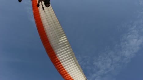Paraglider-Overhead