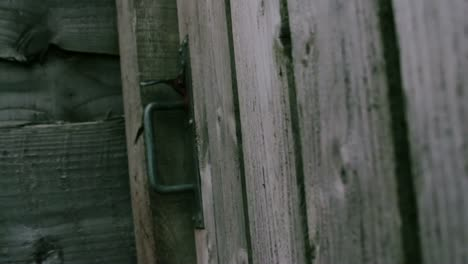 Rain-Drops-On-an-Old-Wooden-Gate