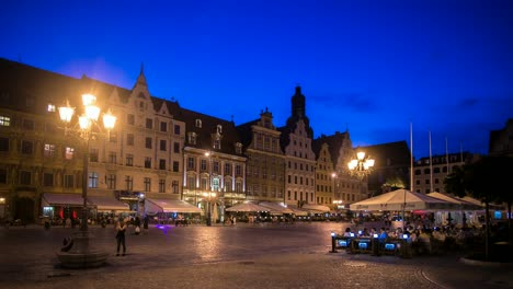 Wroclaw-Evening-Timelapse