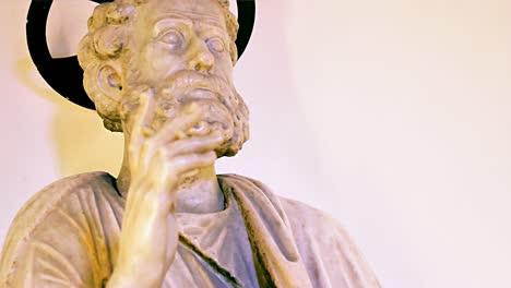 St-Peter-Statue