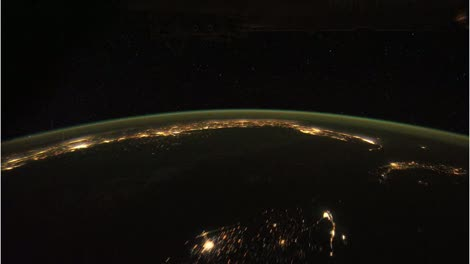 Satellite-Nighttime-Flyby