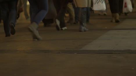 Shoppers-Walking