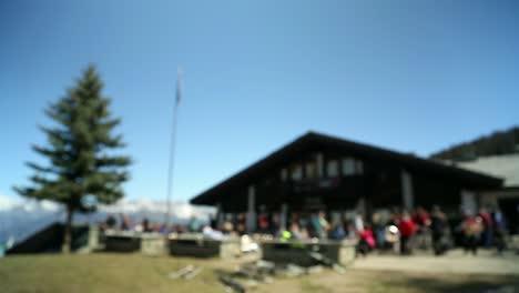 Ski-Resort---Lunchtime