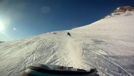 Ski-Run-Rear-View