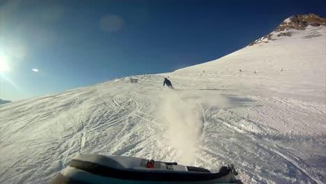 Ski-Run-Rear-View