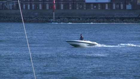 Speedboat-Cruising-in-Harbour