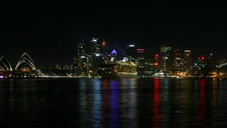 Sydney-Harbour-time-lapse