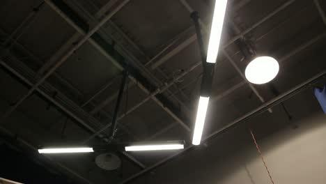 TV-Studio-Lighting-Strip-Lights-On-and-Off