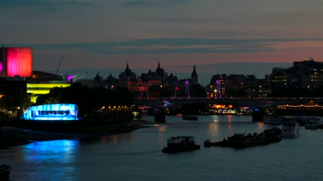 River-Thames-Time-lapse-London