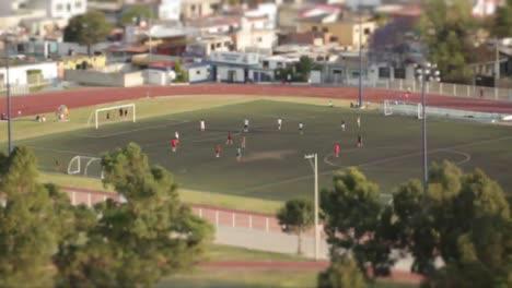 Soccer-Field-Tilt-Shift-Timelapse
