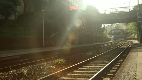 Train-Into-Station