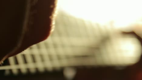 Playing-the-Guitar-Close-Up