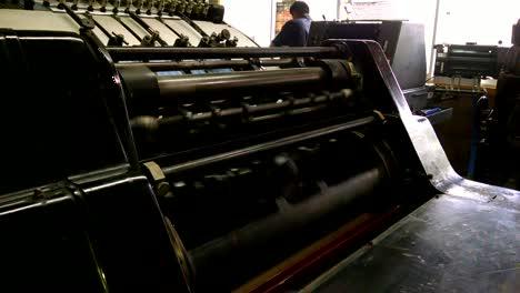 Old-Press-Machine