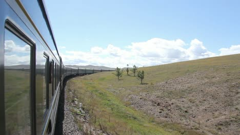 Trans-Siberian-train-in-Mongolia