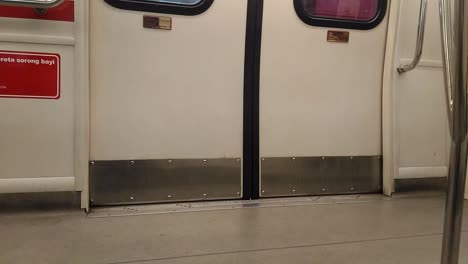 Light-Rail-Train-Door-Closing