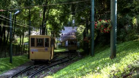 Zaliakalnis-(greenhill)-Funicular