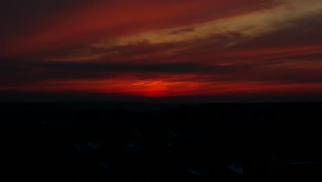 Sunset-in-Kaunas-Timelapse