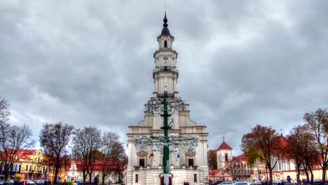 Town-Hall-of-Kaunas-Timelapse