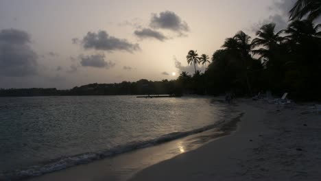 Caribbean-Beach-at-Sunset