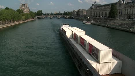 Boat-Passing-the-River-Seine
