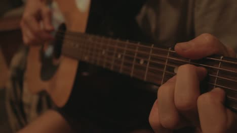 Acoustic-Guitar-Being-Played