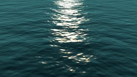 Open-Ocean-with-Sunlight-Reflection