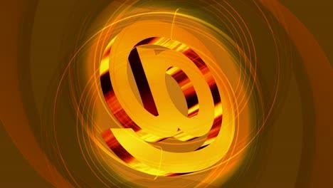 Crazy-Orange-@-Symbol