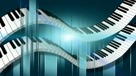 Double-Flowing-Piano-Keys