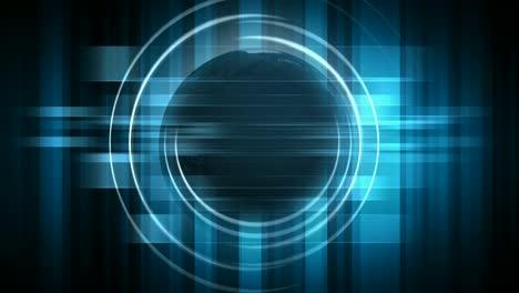 Rotating-Holographic-Globe