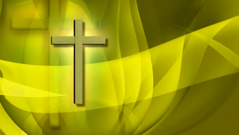 Animated-Crosses-Yellow-Fluid