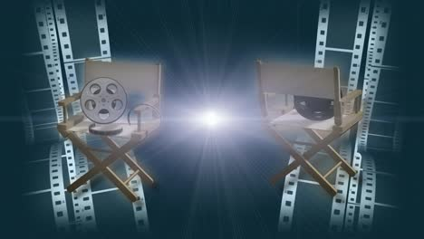 Rotating-Film-Director-Chairs-Background