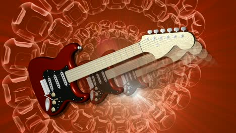 Animated-Guitar-Red-Orange