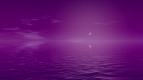 Animated-Purple-Water-Scenery-Landscape