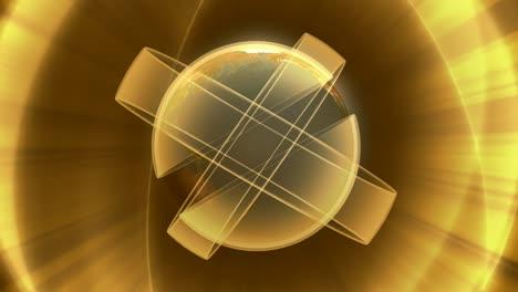 Revolving-Earth-&-Golden-Rings