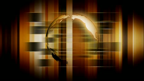 Spinning-Earth-Holographic-Background-Brown