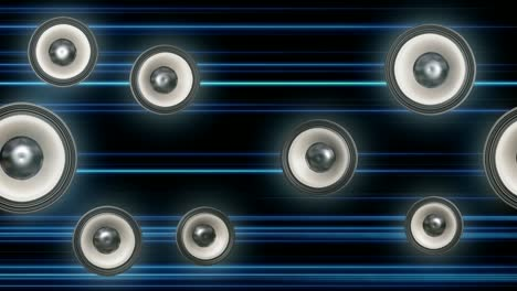 Playing-Sub-Speakers-Blue-Black-Tracers