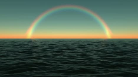 Rainbow-At-Sea