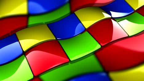 Multi-Colored-Looping-Patchwork-Floor