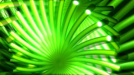 Green-Abstract-Flower-like-Motion-Background-
