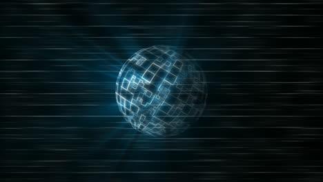 Spinning-Digital-Sphere