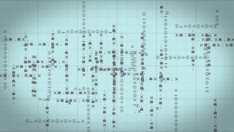 Travelling-Symbols-in-Grid-Formation