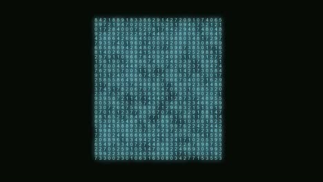 Abstract-Number-Matrix-Blue