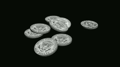 Falling-Half-Dollar-Coins